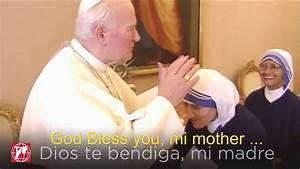 John Paul II & Mother Teresa of Calcutta: Beautiful ...