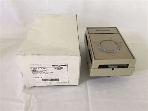 Honeywell Thermostat 2460 by Honeywell T451a 3005 Thermostat New Process Industrial