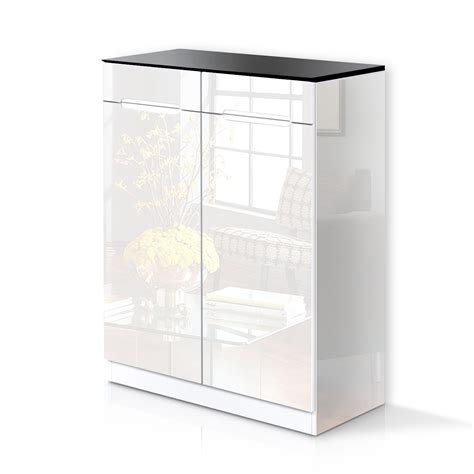 white wooden shoe storage cabinet high gloss 30 pairs wooden shoe cabinet rack storage