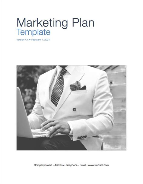 marketing plan template apple iwork pages  numbers