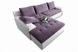Xxl Sofa Mit Schlaffunktion : ecksofa cecile xxl mit schlaffunktion violette sofas zum halben preis ~ Bigdaddyawards.com Haus und Dekorationen