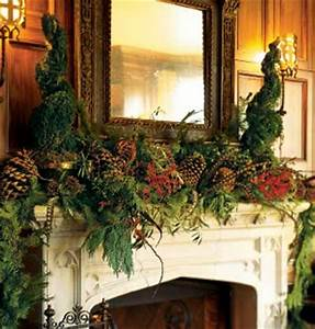 Magical Christmas Mantel Decor Ideas flagsonastickblog