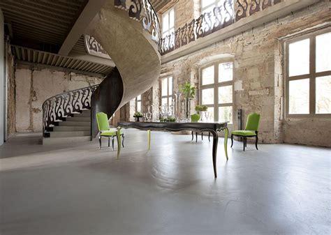 volutes dining table nouveaux classiques collection roche bobois