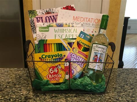 mommy s time out basket i made for our tricky tray it