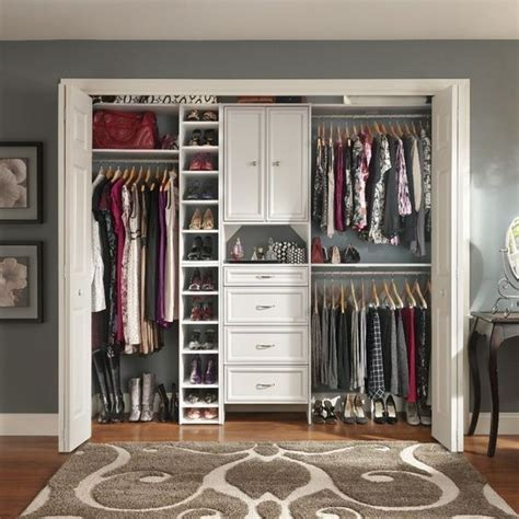hanging shoe rack floor space and closet on