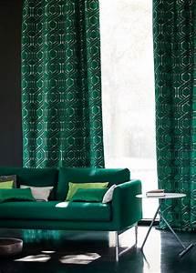 Rideaux Vert Sapin : rideau design les derni res nouveaut s pour habiller ses fen tres avec l gance rideaux ~ Teatrodelosmanantiales.com Idées de Décoration