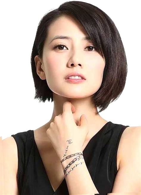 asian short hairstyles   face hairstyles