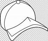 Coloring Hat Cartoon Clipart Colorear Baseball Cap Gorra Sombrero sketch template