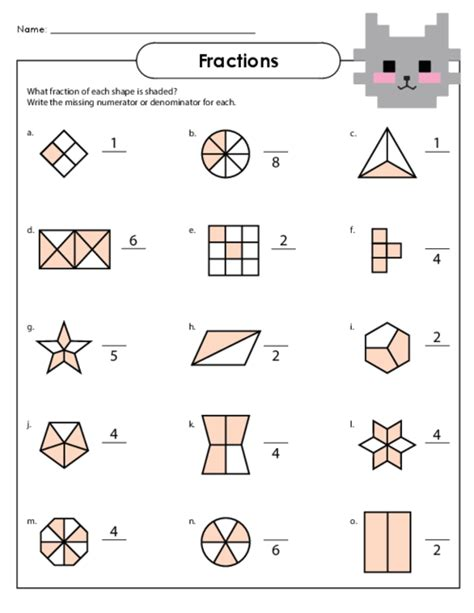 Fractions Worksheets Year 5 Australia  Free Worksheets For Paring Or Ordering