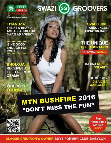 issu magazine sle magazine by swazi groovers magazine issuu