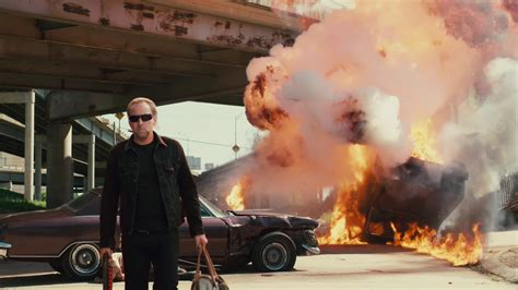 Car Explosion Wallpaper by Drive Angry 2011 Review The Wolfman Cometh