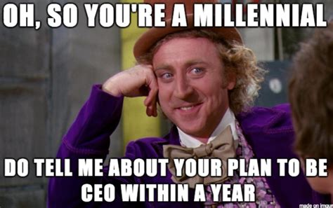 Millenial Memes - the patronising crap aimed at millennials says more about