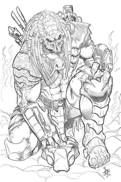 Predator Tribute by RodneyCJacobsen.deviantart.com on