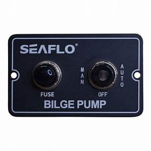 Bilge Pump Switch Automatic  U0026 Manual Operation  Seaflo