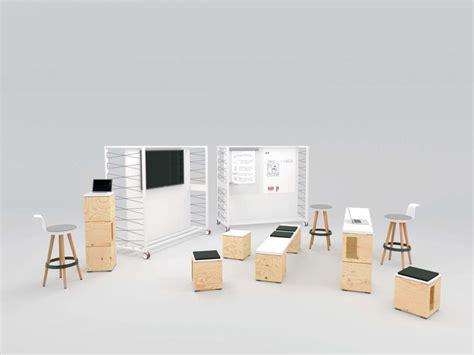 etageres archives bureau pixel par bene mobilier modulaire
