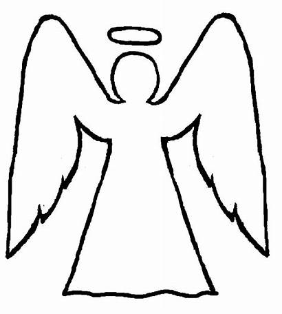 Angel Angels Clipart Coloring Pages Arts Clipartbest