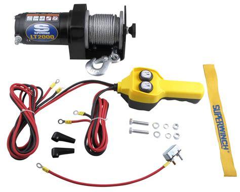 Amazon.com: Superwinch LT2000 12V Utility Winch (2,000lb