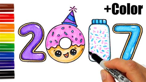 cute  year drawings festival collections