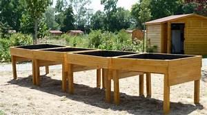 Jardinière En Hauteur : le handi jardinage une belle initiative ~ Nature-et-papiers.com Idées de Décoration