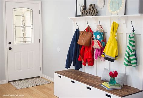 Entryway Benches Ikea by Ikea Hack Diy Mudroom Benches Wa House Garderobe