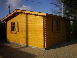 Lame Bois Pour Construction Chalet : chalet habitable de loisirs 40m2 en bois en kit ~ Melissatoandfro.com Idées de Décoration
