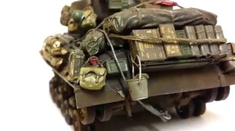 135 Fury Vs Tiger Diorama Youtube