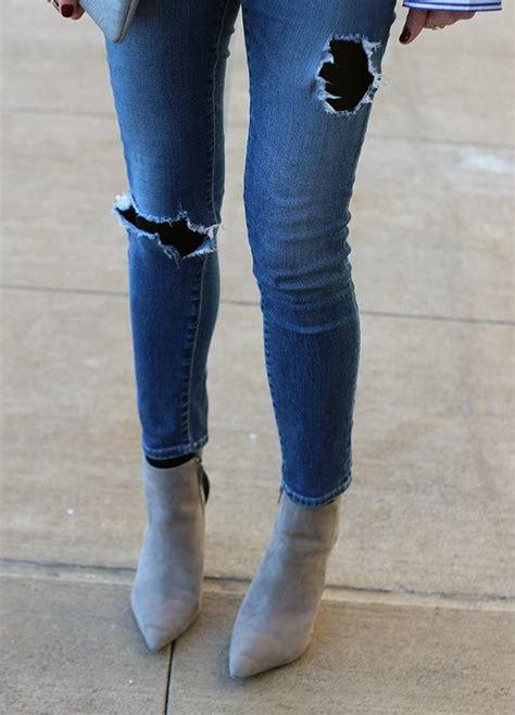 school dress code   ripped jeans