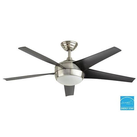 ceiling fan replacement blades windward iv 52 in brushed nickel ceiling fan replacement