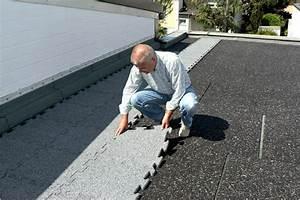 l39etancheite d39un toit plat renover un toit terrasse With etancheite d une terrasse carrelee