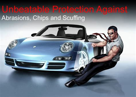 Plastic Printed Paint Protection Film Roll Self Healing