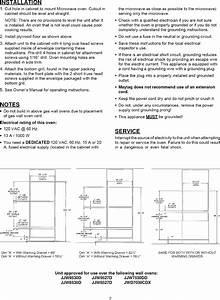 Jenn Air Jmc8130ddb User Manual Cooking Manuals And Guides