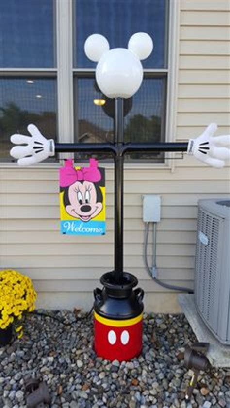 mickey mouse outdoor l post mickey mouse l post cing ideas pinterest