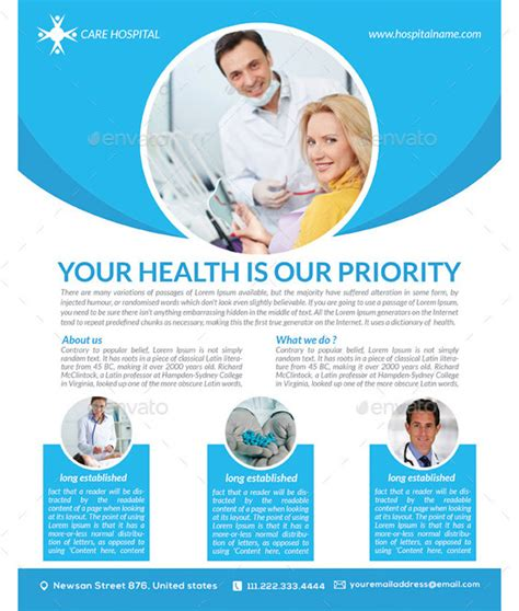 healthcare brochure templates free download 32 medical poster templates free word pdf psd eps