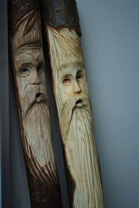 woodwork wood spirit carving  plans