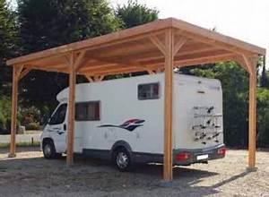 Abri Camping Car Bois : abri camping car bois douglas toit plat ~ Dailycaller-alerts.com Idées de Décoration
