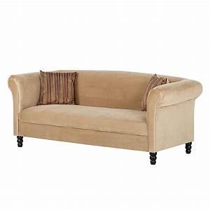 2 3 Sitzer Sofas : sofa aviva 3 sitzer samt beige jack and alice online kaufen bei woonio ~ Bigdaddyawards.com Haus und Dekorationen