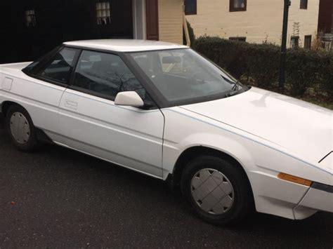 1987 Subaru Xt Gl 2 Door Coupe For Sale