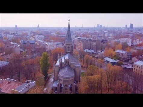 Rīga no putna lidojuma 4K, Riga (Latvia) bird's eye view ...