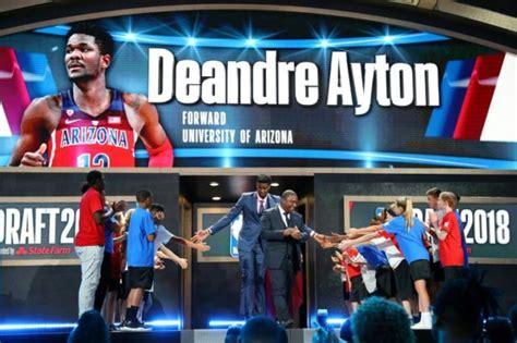 Suns make Bahamas' Ayton the top pick in NBA draft - Breitbart