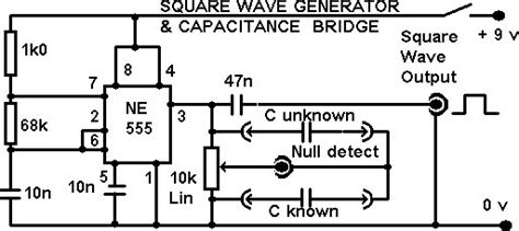 Square Wave Oscillator Circuit Page