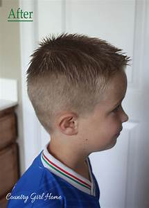 COUNTRY GIRL HOME How To Cut Your Boys Hair At Home For