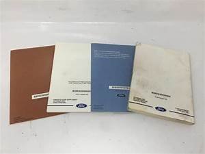 2004 Ford F250 Operator Owners Manual User Guide W373e
