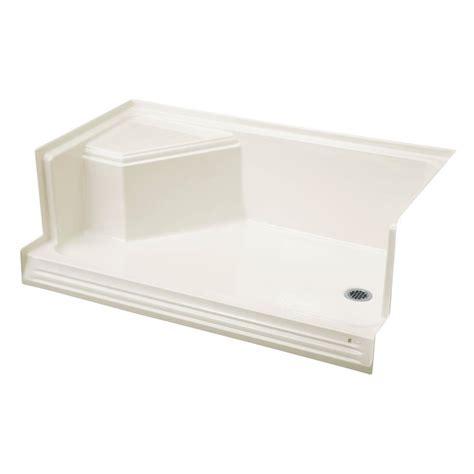 tileable shower pan 36 x 60 kohler shower stall with seat kohler memoirs 60 in x 36 in