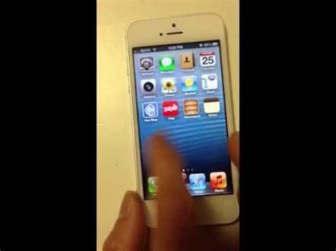 my iphone screen is frozen iphone iphone 5 frozen unresponsive screen 3298