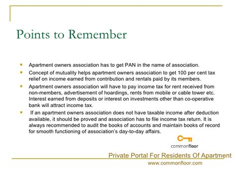 Apartment Owners Association Ontario by Income Tax And Rebate For Apartment Owners Association