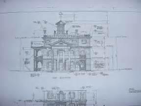 mansion plans new orleans square blueprints