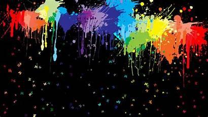 Paint Splatter Desktop Backgrounds Wallpapers