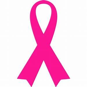 Deep pink ribbon 5 icon - Free deep pink ribbon icons
