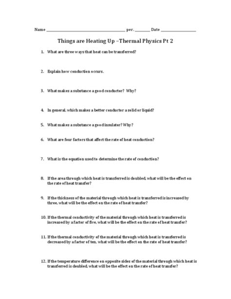 worksheet high school physics worksheets hunterhq free