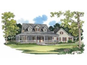 country house plans with porches picturesque porch hwbdo02244 farmhouse home plans from builderhouseplans